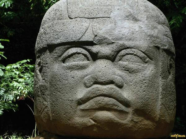 Ancient Olmec Heads: A Picture Is Worth A Thousand Words